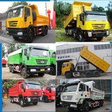 IVECO Hongyan genlyon dump trucks 10 tires 6x4 truck tipper