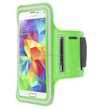 Hot for samsung galaxy s5 sports armband case with key pocket