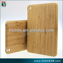bamboo case for Ipad mini, bamboo hard case for ipad mini, bamboo phone case