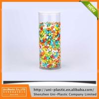 Inner diameter 103mm transparent clear plastic tube for candy