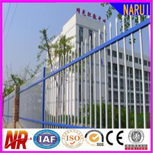 China Factory Cheap Powder Coated Metal Wrought Iron Fire-proof Composite Fence Pickets