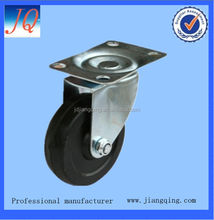 3 inch solid rubber caster wheel wholesale
