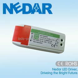 2 year warranty dimmable led driver 350ma led power supply 300ma dimmable led driver with plastic shell