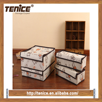 Tenice 2016 new item 3 sets Divider clothes fabric organizers
