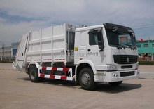Sinotruk HOWO 4*2 266HP garbage compactor truck, small garbage truck, garbage truck for sale