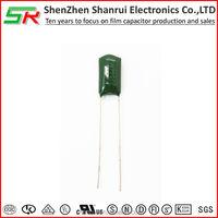 PEI Metallized Polyester Film Mylar Capacitor CL11 0.01uf 103J 63v