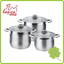 16-24cm,Stainless steel russian enamel stock pot with metal lid and handle