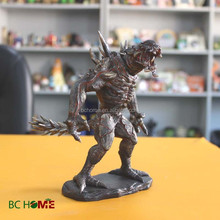 8 inch resin monster action figure for catroon fans