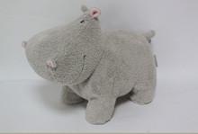 2015 Top Grade Plush Hippo Toy Wild Animal Toys