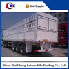 China manufacturer cargo stake semi trailer sale with low price