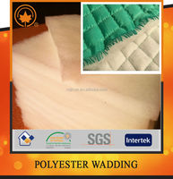 Padding fabric for quilt by the roll in china factory