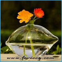 M- wholse beautiful glass flower base
