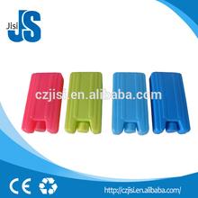 de plástico de calidad alimentaria de hielo del congelador de ladrillos con la fda y sgs msds certificados