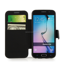Hot selling for samsung galaxy s6 phone case leather cover