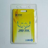 Customized waterproof id card holder,business card holder,plastic card holder