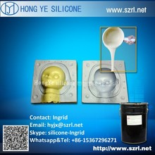 Liquid silicone for urethane resin mold making