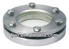 Stainless Steel Flanged round Sight Glass