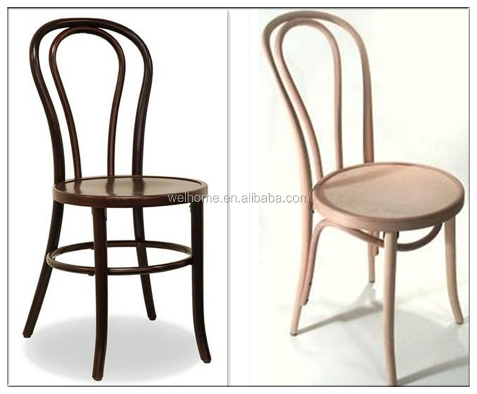 Stacking French Style Bentwood Dining Chair Thonet Chair