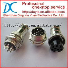 M16 Series 2 3 4 5 6 7 8 9 Pin M16 Circular Connector