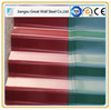 Colorful stone coated steel roof tiles for villa building material