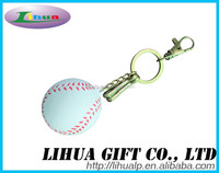 Custom design cheap Eco-friendly pu foam soccer ball keychain / floating key chain