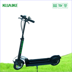 """10"""" electric scooter , two wheels kick electric scooter, standing up with handle bar"""