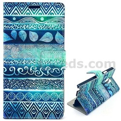 Cross Texture PC+PU Stand Flip Leather Case for Samsung Galaxy Note 4 N910