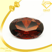 Natural garnet AAA clear oval jewelry making accessory jewelry for shoes