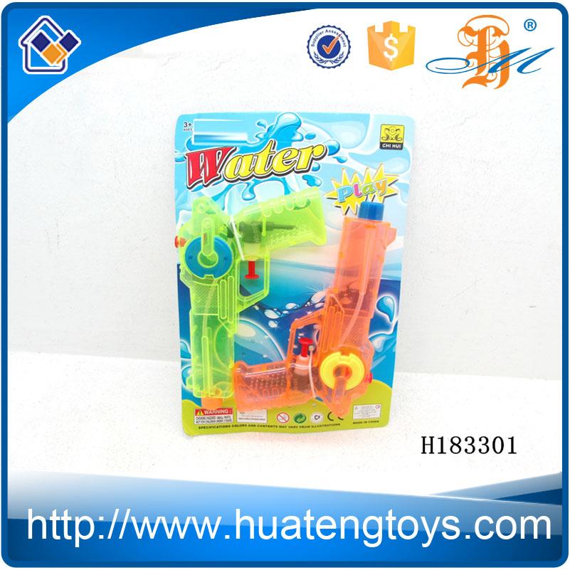 H183301 горячий продукт прозрачные цвета крытый nerf водяной пистолет игрушка для продажи