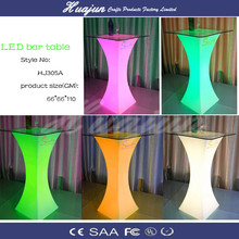 Hight quality led table LED modern sale cheap plastic table