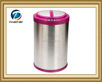 12L recycling Stainless steel sensor dustbin automatic garbage bin indoor trash bin