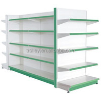 High Quality New style supermarket metal shelves