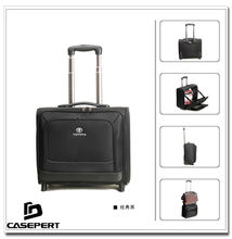 "1680D Polyester Laptop Computer Traveler Luggage Trolley Case for 15.6"" Laptop"