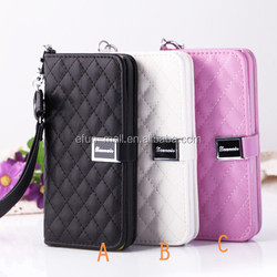 2015 High quality flip leather case for iphone 5c, for iphon 5c mobile phone case