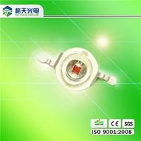 Good quality high lumen 630nm 620nm 640nm 850nm 660 nm 3w red led chip