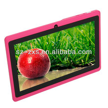 7 inch mini different types of tablets Q88 with WIFI+512MB RAM+4GB ROM+camera ZXS-Q88