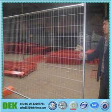 galvanizado portátil de seguridad jardín valla de metal