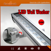 PanaTorch 24PCS Outdoor Linear LED Wall Washer IP65 Waterproof PS-JX302 energy saving For city landscaping project