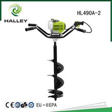 Portable heavy duty post hole digger