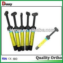 dental jeringa compuesto fotopolimerice compuesto de resina dentales material de relleno