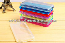 IMPRUE Clear &solid Soft TPU Combo Case Cover For Iphone 5C 8 colors