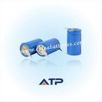 Long lasting rechargeable battery 14250 / 1/2 aa li-ion battery pack 3.7v 300mah