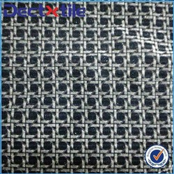 New products from china market flocking fabric for curtain