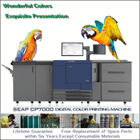 seap cp7000 4 colors heidelberg offset screen flexo printing machine