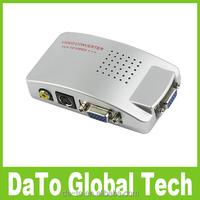PC VGA to TV AV RCA Video Converter Adapter