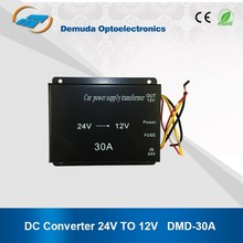 Hot Sale 360w output 24vdc to 12vdc step down converter 30A