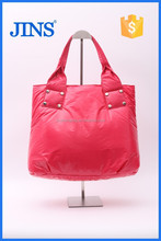 2015 newest design space cotton tote bag, standard size cotton ladies handbag, design women tote bag