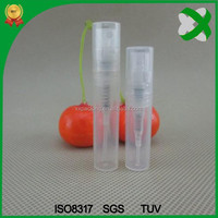 mini plastic bottle spray tube 3ml PP tube CHINA manufacture