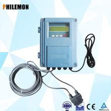 Latest hand type ultrasonic flow meter to measure liquid medium