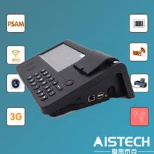 Rfid de mano de inventario para escáner de código qr/de impresión de código de barras terminal punto de venta